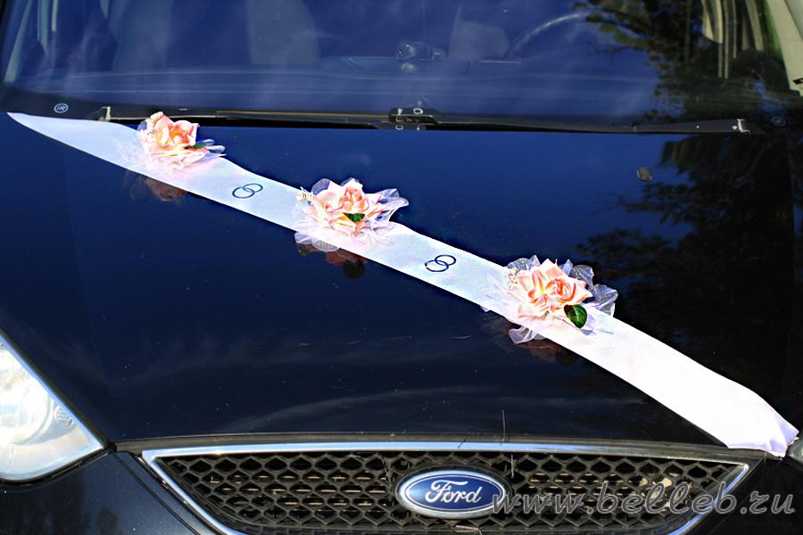 Как сшить ленты для украшения машины на свадьбу 64