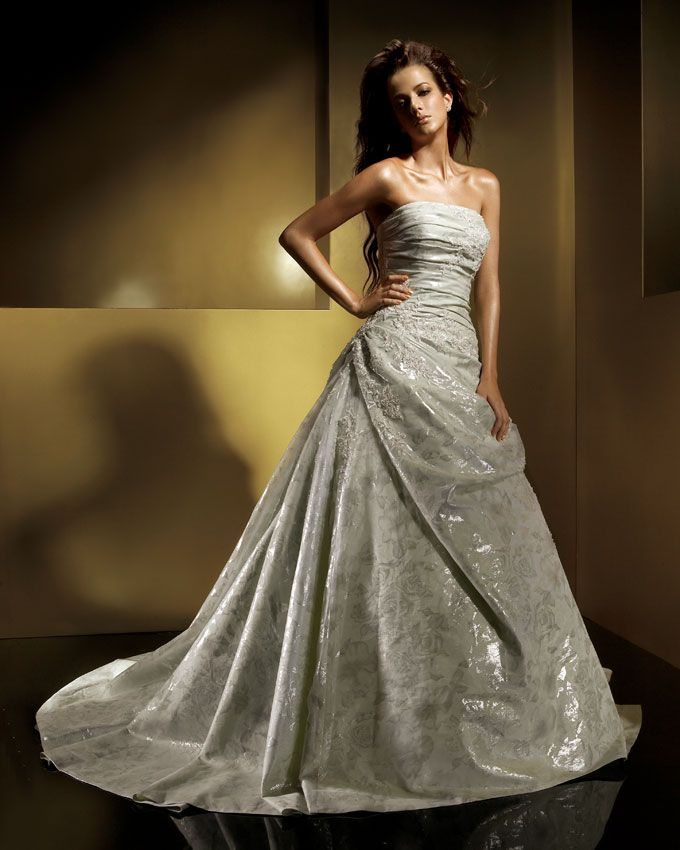 Ivory Wedding Dress 8