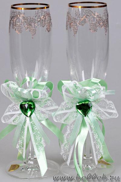 набор свадебных украшений на