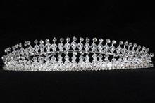 диадемы (короны, тиары) - эксклюзивная свадебная диадема с хрусталиками