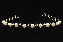 диадемы (короны, тиары) - золотистый ободок купить недорого