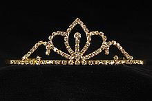 невысокие диадемы (короны, тиары) - недорогие свадебные диадемы