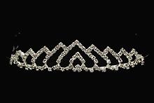 диадемы (короны, тиары) - свадебные диадемы со стразами, москва, 2017