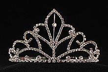 диадемы (короны, тиары) - шикарная золотистая диадема для награждения, фото, каталог и цены, интернет-магазин, салон
