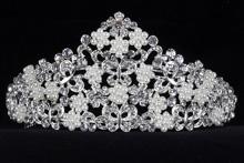 диадемы (короны, тиары) - высокая диадема для свадьбы или конкурса красоты