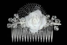 белые гребни для волос свадебные, фото, каталог, цены