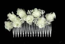 купить гребни для украшения волос цвета айвори, картинка