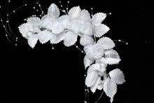 свадебные белые веночки, фото, каталог с ценами, интернет-магазин