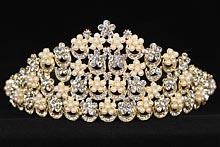 диадемы (короны, тиары) - высокая диадема для конкурса красоты купить, цена