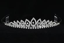 серебряная диадема купить - диадемы (тиары, короны), картинки, цены