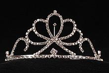тиары и диадемы короны купить серебристого цвета