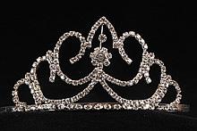диадемы (короны, тиары) - высокие диадемы, короны для конкурсов красоты