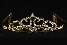 купить тиару, корону, недорогую диадему со стразами, картинки, цены