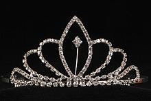 купить тиару, корону, диадему со стразами, фото, интернет-магазин