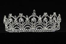 диадемы (короны, тиары) - высокие свадебные диадемы для невесты в москве