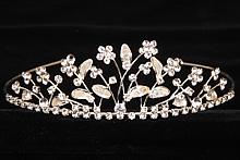 диадемы (короны, тиары) ручной работы свадебные для невесты в москве