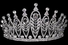 диадемы (короны, тиары) для конкурсов - высокая диадема для конкурса красоты