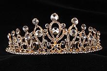 диадемы (короны, тиары) - высокая диадема для конкурса красоты или на свадьбу