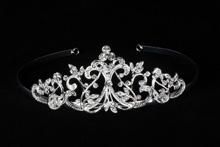диадемы (короны, тиары) - высокая диадема на свадьбу корона