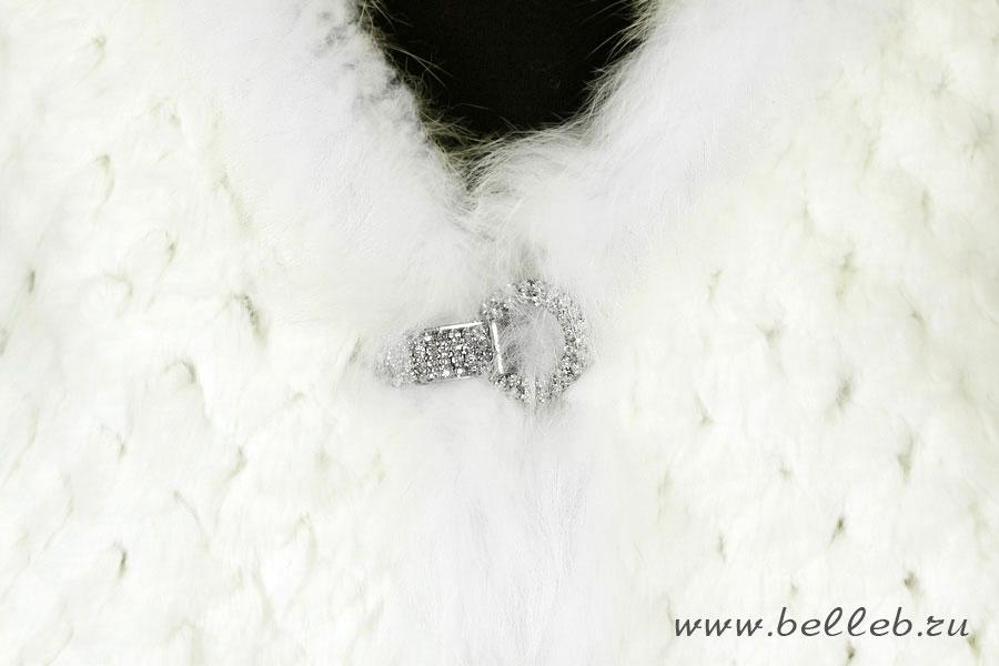 свадебные накидки на платье из натурального меха кролика, фото
