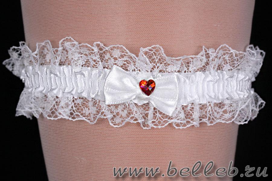 Как сшить подвязку для невесты своими руками кружево 28
