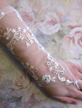 свадебные перчатки, митенки - все модели