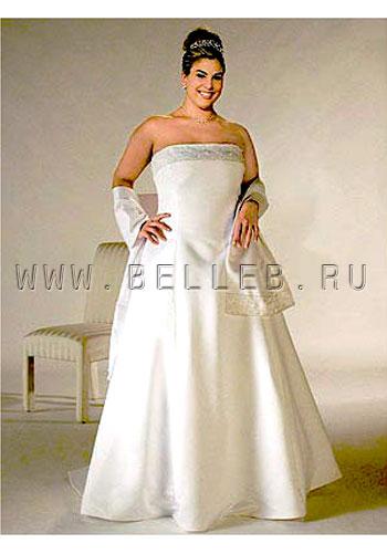 Свадебное платье на полных девушек