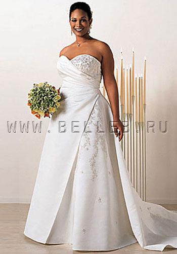 Пышная невеста.  Выбираем свадебное платье для полных невест.