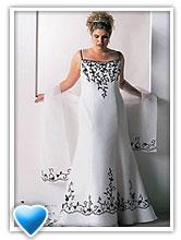как выбирать свадебные платья для полных