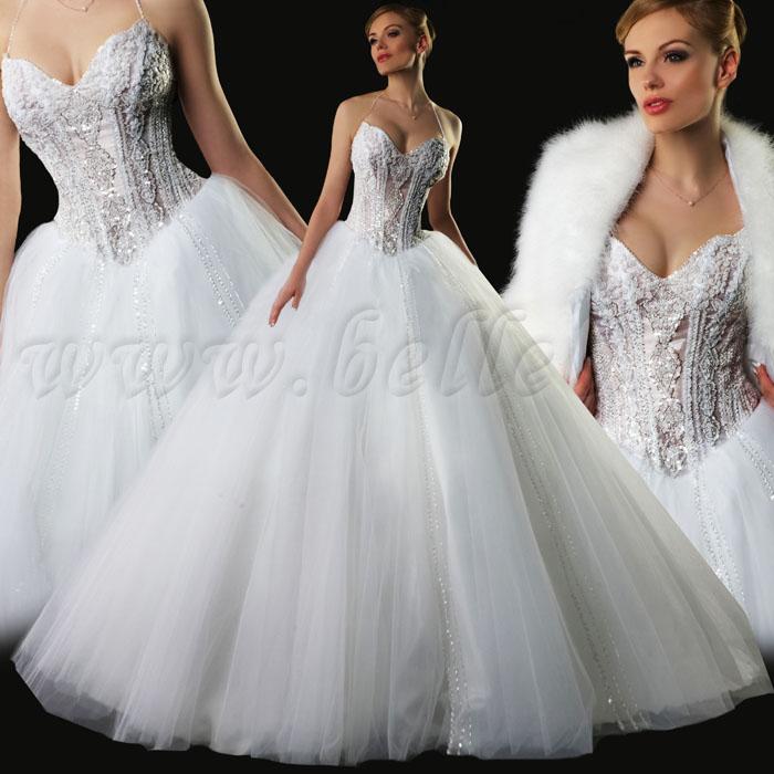 Платья полностью вышитый бисером и