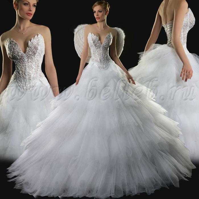 самые красивые платья ассиметрия фото