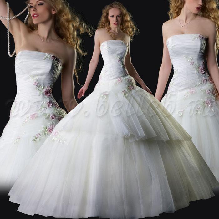 Платье l2690 пышное свадебное платье