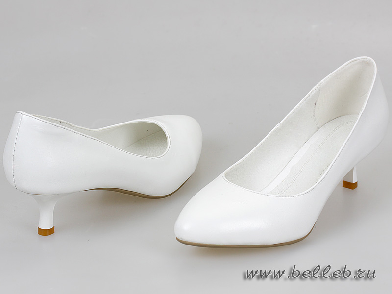 Женские туфли голубые на высоком каблуке