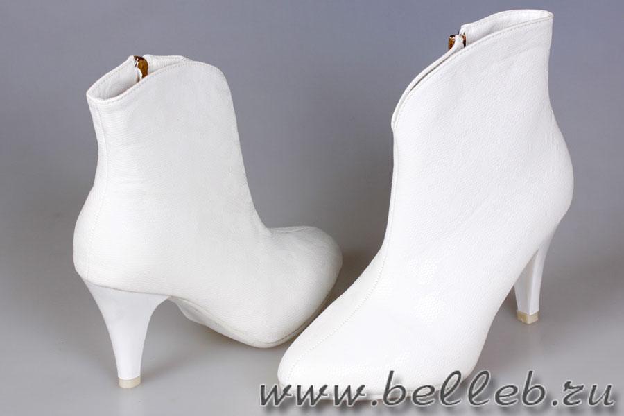 Сапожки Белые Свадебные Фото