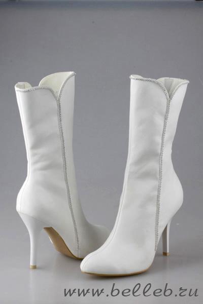 Белые сапоги, фото