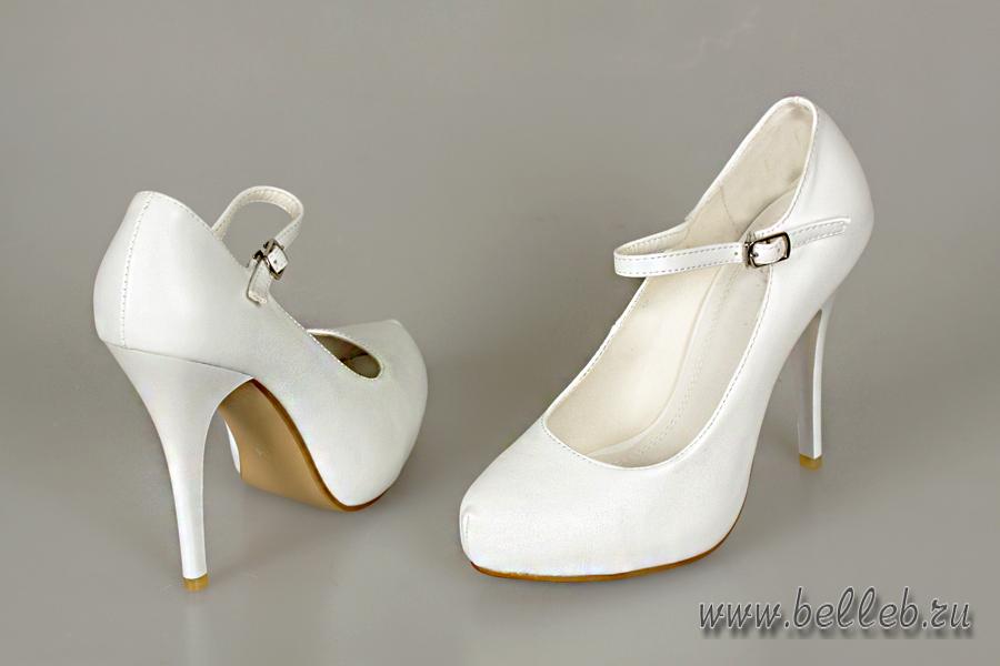 Свадебные белые туфли купить в москве