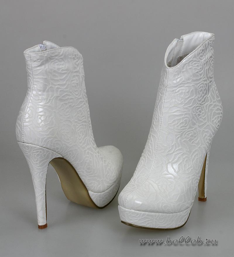 Туфли На Каблуке Свадебные