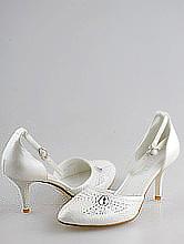 свадебная обувь в москве, туфли для свадьбы цвета айвори с ремешками, фото, цены