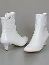 свадебные сапожки на невысоком каблуке большого размера, фото