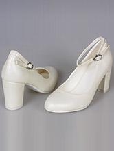 свадебная обувь, кожаные свадебные туфли на платформе, фото, цены, каталог