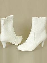 свадебные сапожки на невысоком каблуке, фото, каталог с ценами