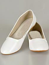 свадебная обувь, свадебные балетки больших размеров белого цвета, фото, цены, интернет-магазин