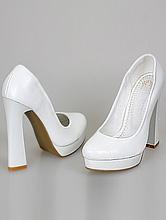 свадебная обувь на платформе, туфли на высоком каблуке