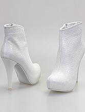 свадебная обувь, купить белые свадебные сапожки, фото, каталог и цены