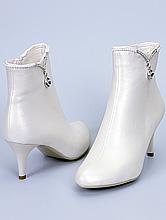обувь на свадьбу, свадебные сапожки цвета айвори (шампань, кремового, светло-бежевого), цены, купить в Москве