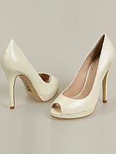 свадебная обувь, кожаные туфли цвета айвори (шампань, светло-бежевый, кремовый), фото, каталог