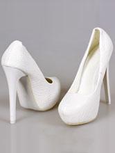 белые свадебные туфли на высоком каблуке, фото, каталог, интернет-магазин, 2017