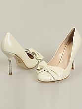 свадебная обувь, красивые кожаные туфли цвета айвори (шампань, светло-бежевый, кремовый)