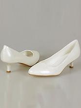 обувь на свадьбу, туфли цвета айвори на низком каблуке, каталог, фото, интернет-магазин