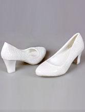 удобные свадебные туфли на толстом устойчивом каблуке, купить, каталог и цены